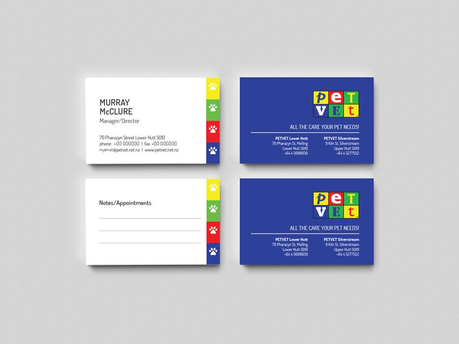 PETVET Business Cards Design