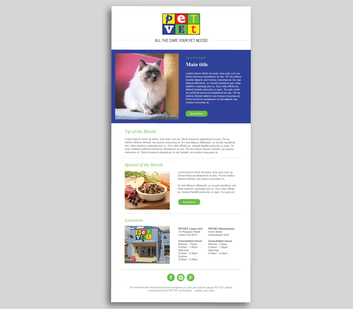 Newsletter Layout Design