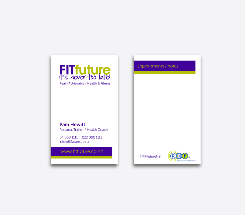 FITfuture Business cards
