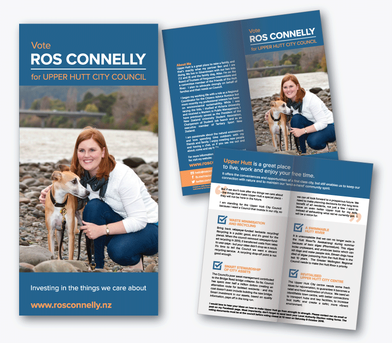 Ros Connelly Brochure Design