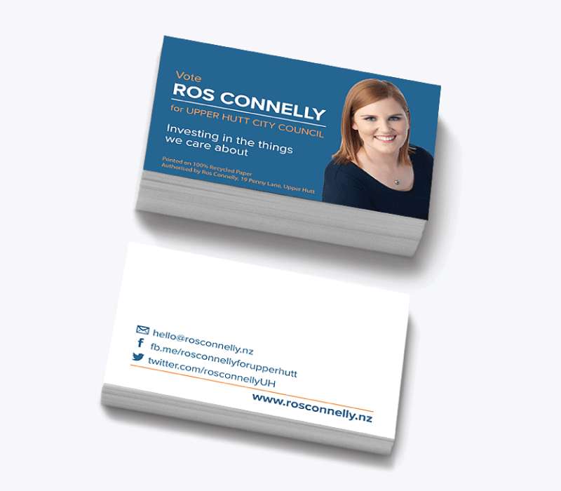 Ros Connelly Business Cards