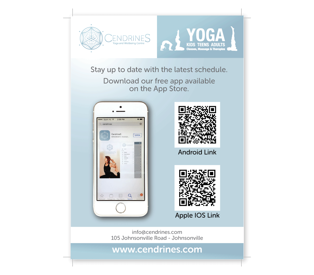 Yoga Studio Poster Design